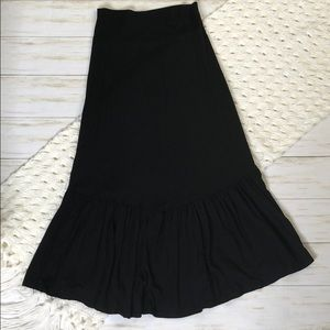 NWT Agnes & Dora Boho Midi Skirt